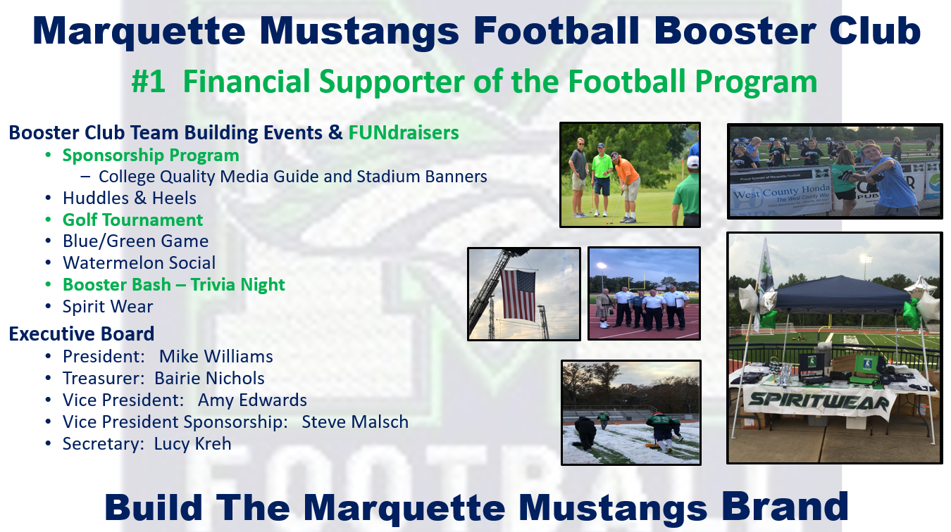 Booster Club Overview